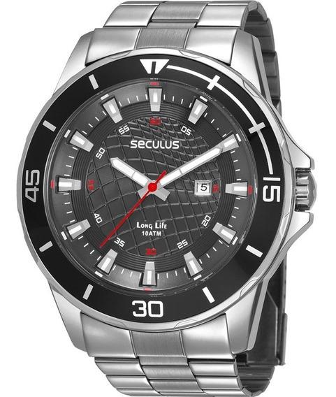 Relógio Masculino Seculus Prata 28994g0svna1