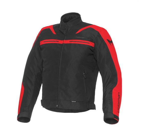 Campera Moto Protecciones Impermeable Motorman Rocky