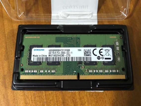 Memória Ram 4gb Samsung Ddr4 Pc4 2666v