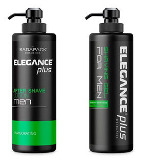 Combo Elegance Shaving Gel + Lotion Gel 500 Ml Verde