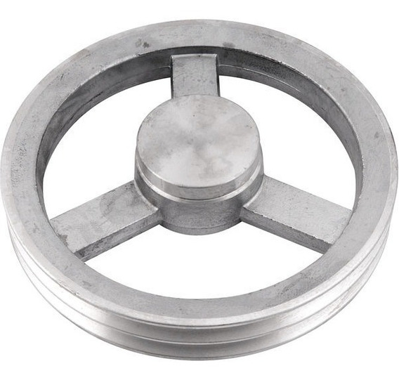Polia De Alumínio 2 Canais A 230 Mm Vonder ( 2 Unidades )