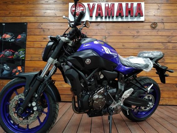 Yamaha Mt 07 Azul Recibo Permutas