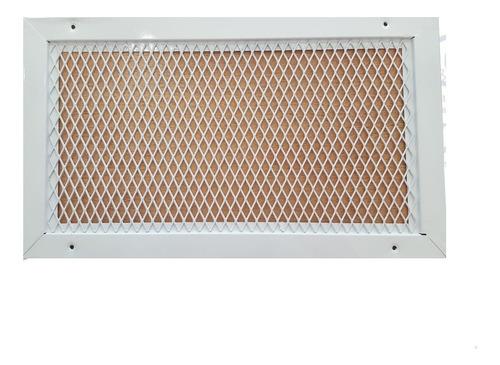 Rejilla De Ventilacion 40x20 Retorno / Construccion / Gas