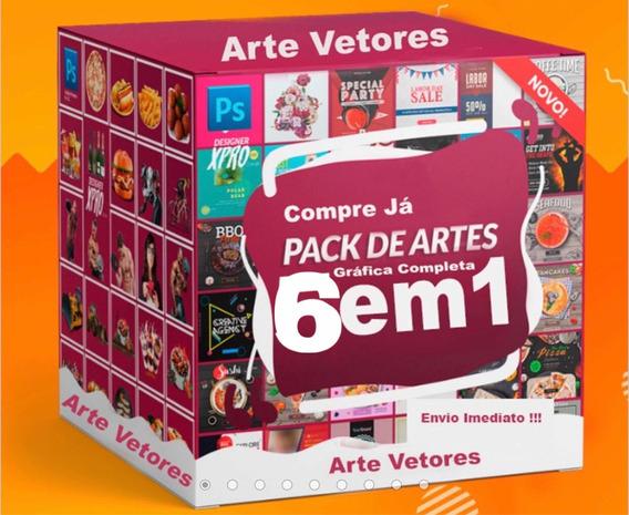 Gráfica Completa Sublimação Artes Prontas Vetores Cartão