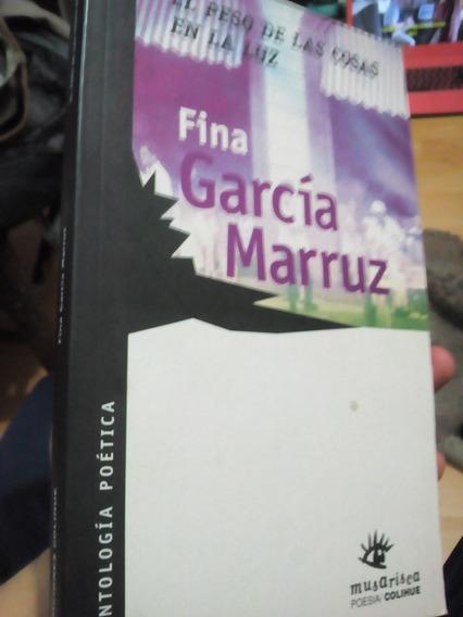 Fina García Marruz Antología Poética El Peso De Las Cosas