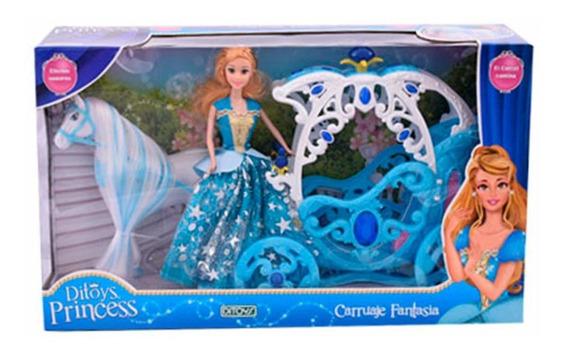 Carruaje Fantasia Princesa Ditoys Art.2122