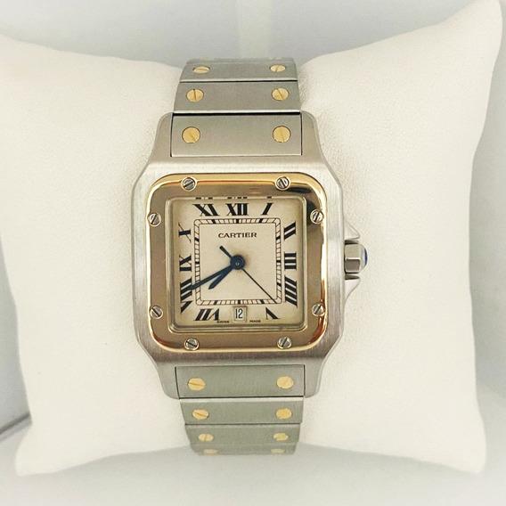 Reloj Caballero Cartier Santos Galbee Original
