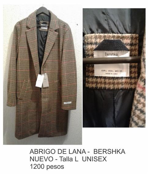 Abrigo De Lana - Bershka