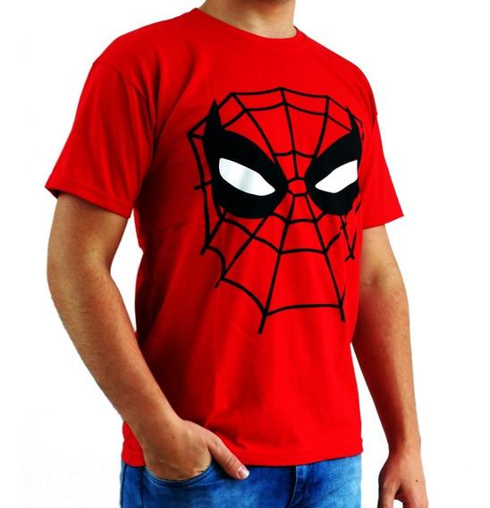 Kit Família 3 Camisetas Super Herois Divertidas Promoção