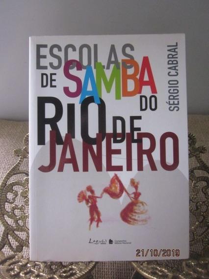 Livro Escolas De Samba Do Rio De Janeiro