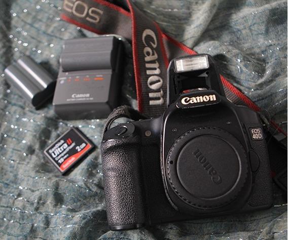 Camera Digital Eos 40d - Revisada!