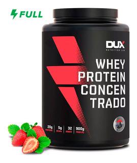 Whey Concentrado 900g - Dux Nutrition Promoção Original + Nf