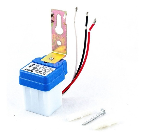 Fotocelula Fotocontrol Sensor Sica Sunshine 6 Amp Apto Led