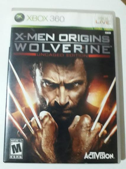 X Men Origins Wolverine Xbox 360 Mídia Física