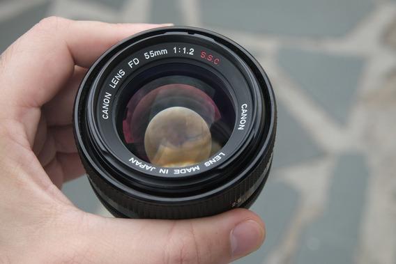 Lente Canon Fd 55mm 1.2 Ssc