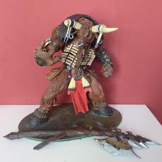 Tauren Shaman World Of Warcraft Wow Sota Toys 25cm