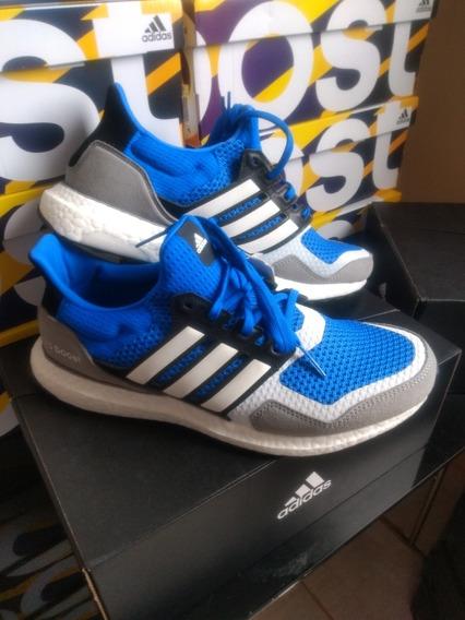 Tênis adidas Ultraboost S&l Azul/cinza Tam 41 Original Top