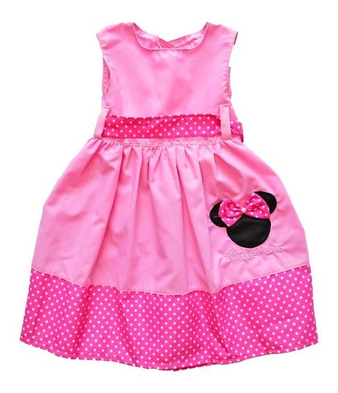 Vestido Nena Minnie Lunares