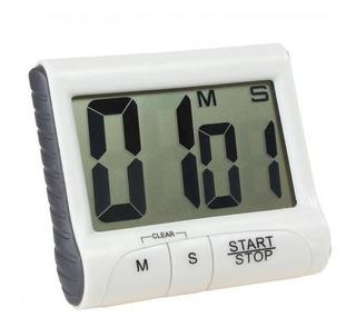 Timer Digital Cronômetro Imã Cozinha Treino Academia D016