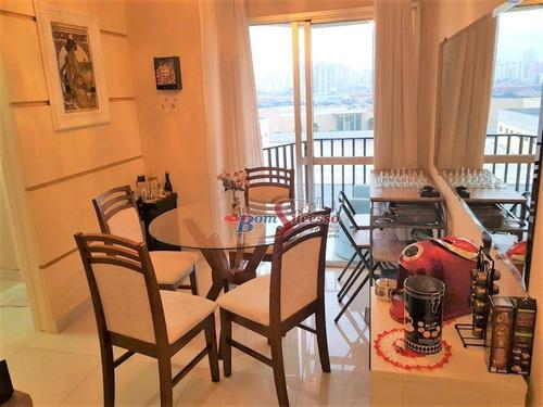 Apartamento Com 2 Dormitórios À Venda, 51 M² Por R$ 420.000,00 - Mooca - São Paulo/sp - Ap2383