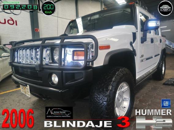 2006 Hummer H2 Pickup Blindada Nivel 3, Factura Original