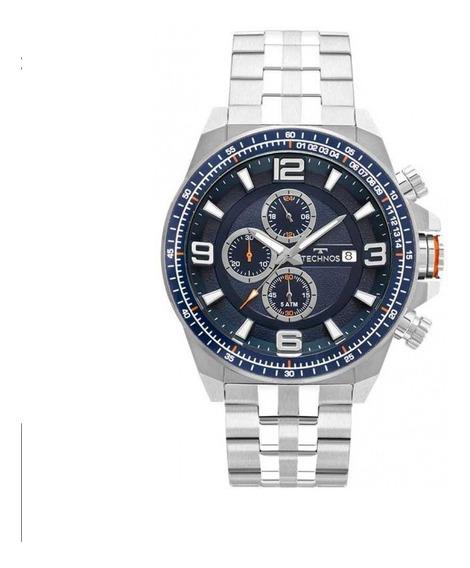 Relógio Technos Masculino Js15fd/1a Estilo Invicta Promoção