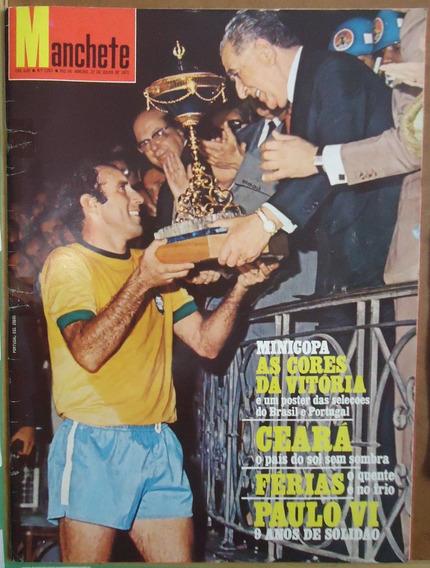 Manchete 1972 - Miss* Rejane* Minicopa* Ceará* Encarte*