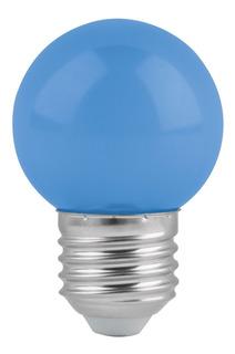 Foco De Led, G45, 127 V, 1 W, Color Azul B46026