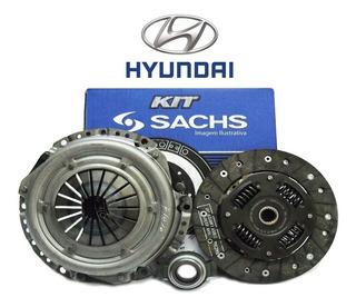 Kit Embreagem + Rolamento - Hyundai Hb20 S / Comfort Style E Plus / Premium Motor 1.0 12v 2012 Até 2019 - Original Sachs