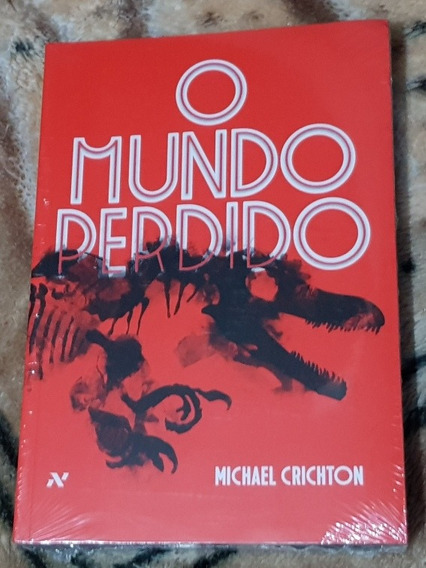 Livro Jurassic Park O Mundo Perdido Michael Crichton Lacrado