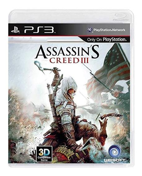 Assassins Creed 3 - Ps3 - Original - Mídia Física - Usado