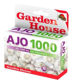 Garden House Ajo 1000 + Vitamina C Sup Dietario X 30 Comp