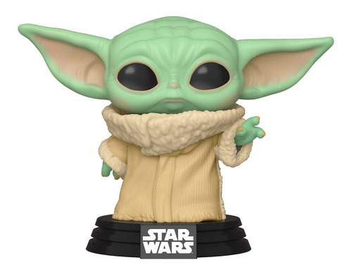 Boneco Funko Pop Star Wars Mandalorian Child Baby Yoda 368