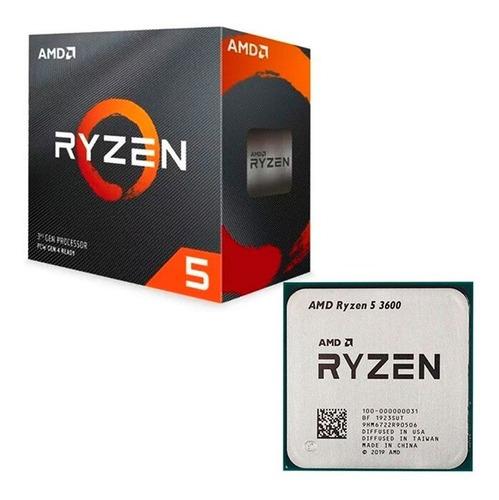 Procesador Gamer Amd Ryzen 5 3600 3a 6nucleos 4.2ghz | SOLUCIONES.EXE