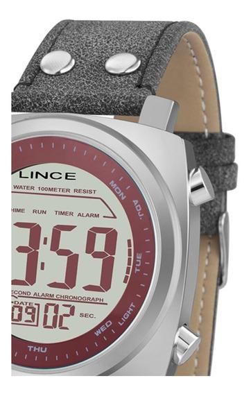 Relógio Masculino Lince Mdch070l Digital Quartz Casual Urb
