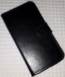 Capa Anti Impacto Samsung J5 J500 Carteira Flip - Preta