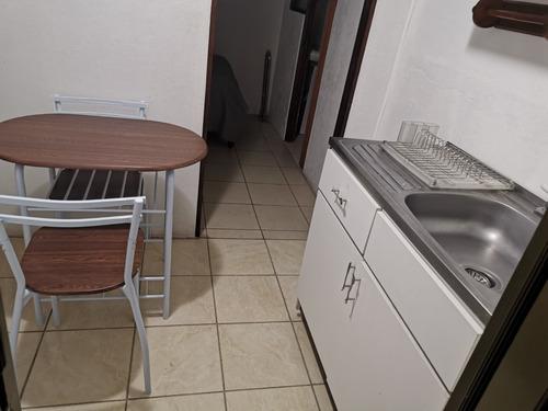 Imagen 1 de 12 de Mini Apartamento Amueblado En Llorente, Tibás.  Sin Parqueo