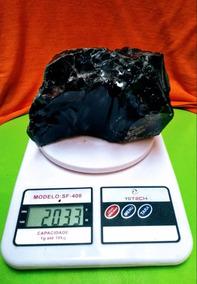 Pedra Bruta De Obsidiana Negra 2 Kg