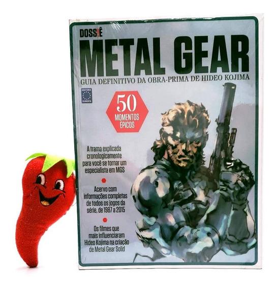 Revista Dossiê Metal Gear, Guia Def Obra Prima Hideo Kojima