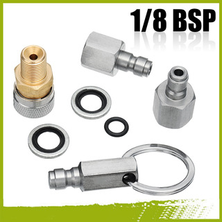 1/8 Bsp Acoplador Rápido Acessórios Kit Adaptador De Carrega