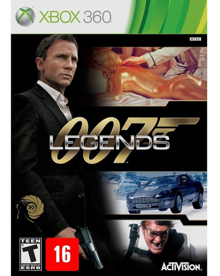 007 Legends James Bond Xbox 360 Jogo Original Mídia Física