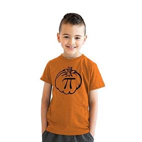 Camiseta Calabaza Juvenil Pi Camiseta Matematica Divertida C