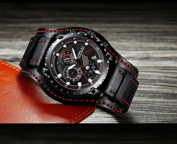 Relógio Masculino Crrju Black