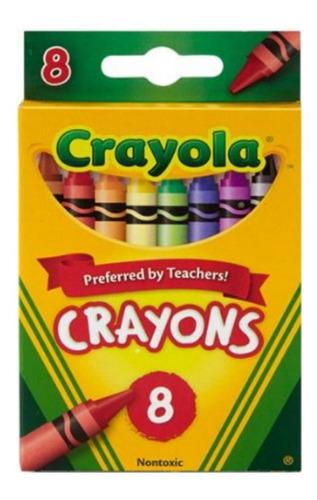 Crayola: Caja Crayones  Pack X 8  Tienda Oficial