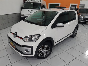 Vw Cross Up Tsi 2018 Branca 1.0 Mec Ud Compl Som Volante