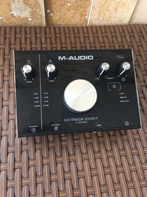 Placa De Áudio - M-audio Mtrack 2x2m