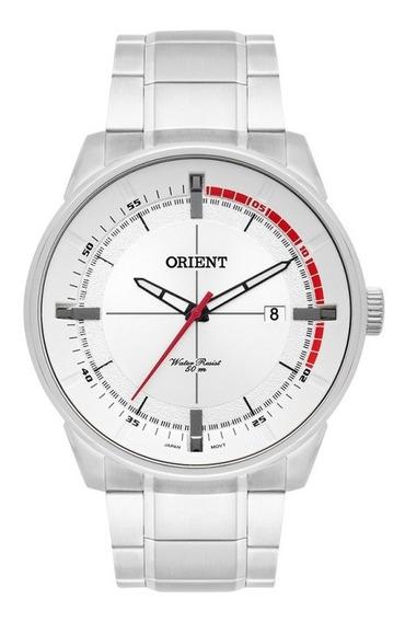 Relógio Masculino Orient Classic Prata Original Mbss1295
