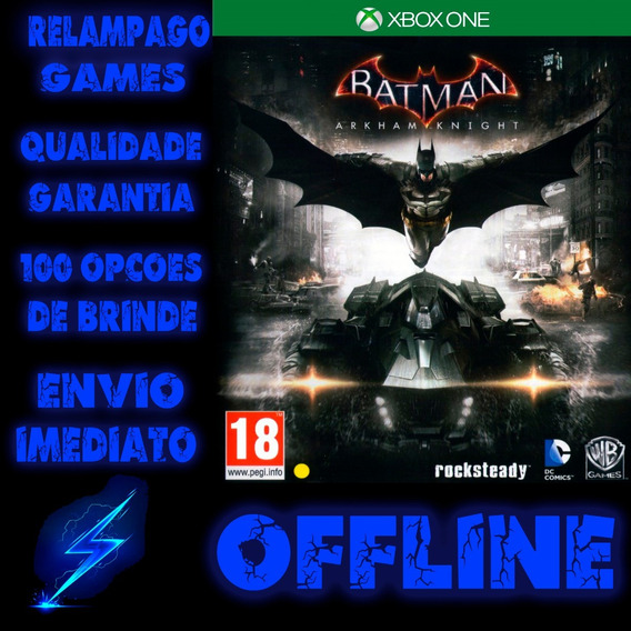 Batman: Arkham Knight Xbox One Digital Offline + Brinde
