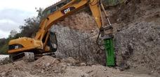 Martillo Hidraulico Rockram Usado Para Excavadoras 320