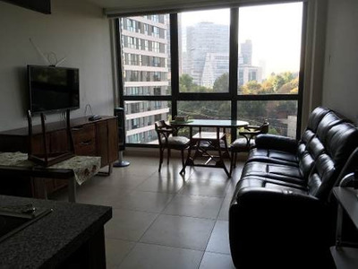 Loft Amueblado En Renta, Ideal Para Ejecutivo En Exclusivo Be Grand Alto Polanco.